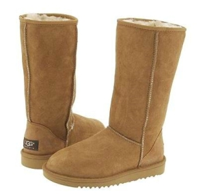 #1. Classic Ugg Boots in Chestnut