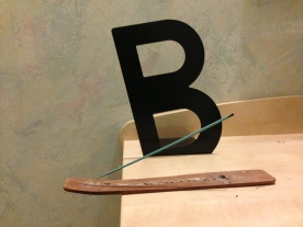 """B"" Book End x Incense"