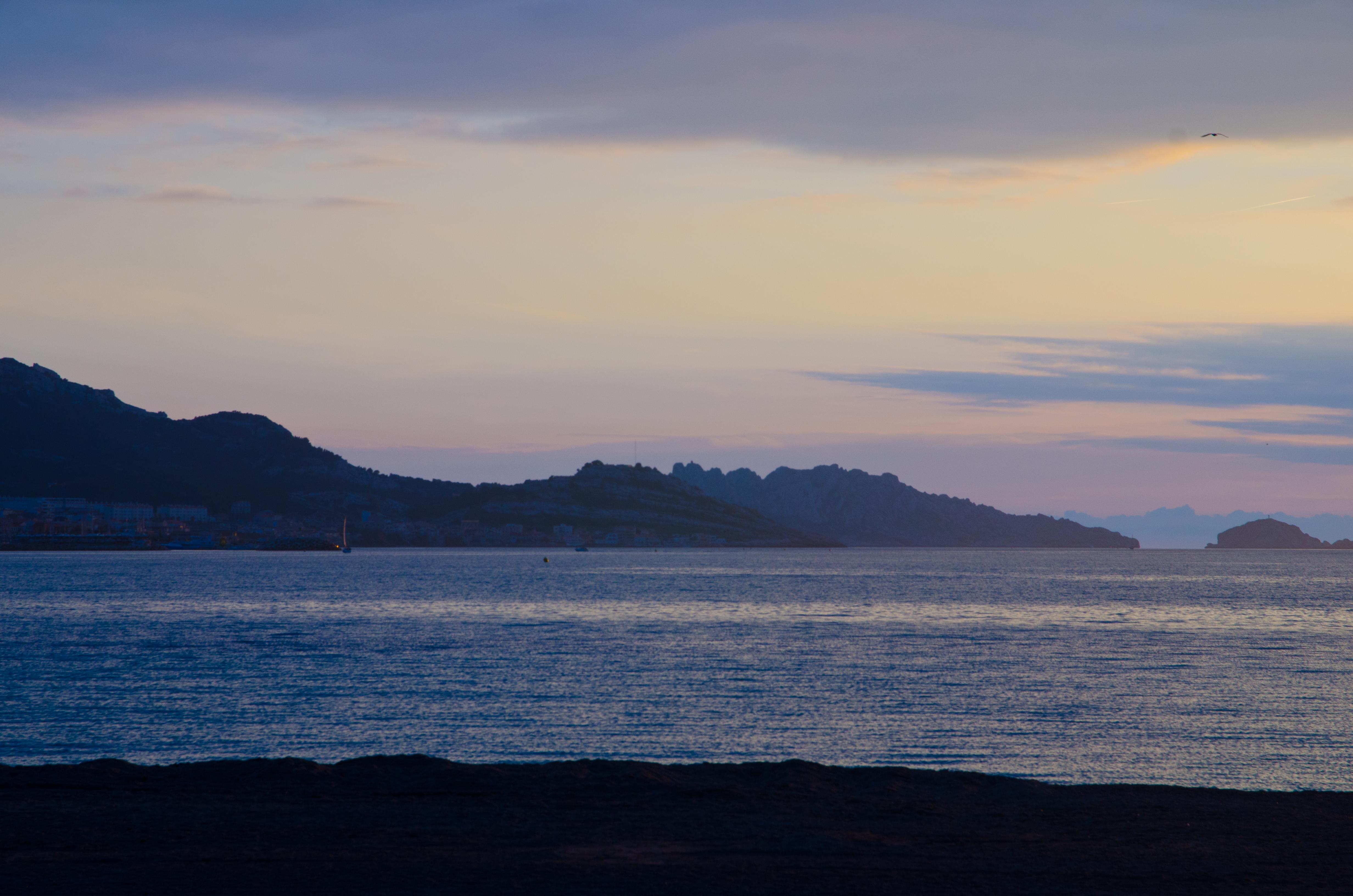 Magic Hour at Prado Beach