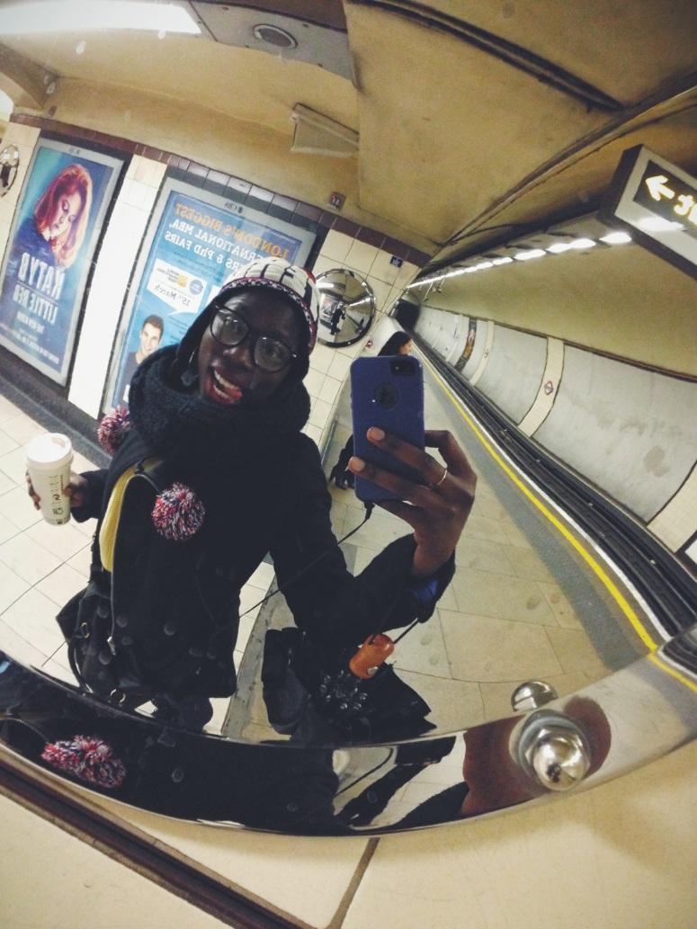 Underground Selfie